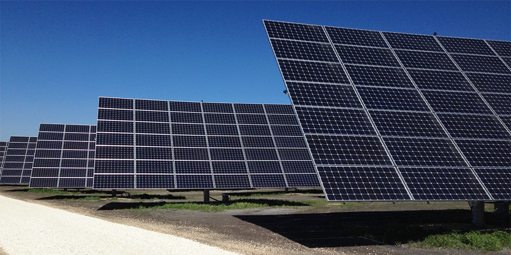 Solar Farm Uses Locally Made Products To Produce Clean Energy
